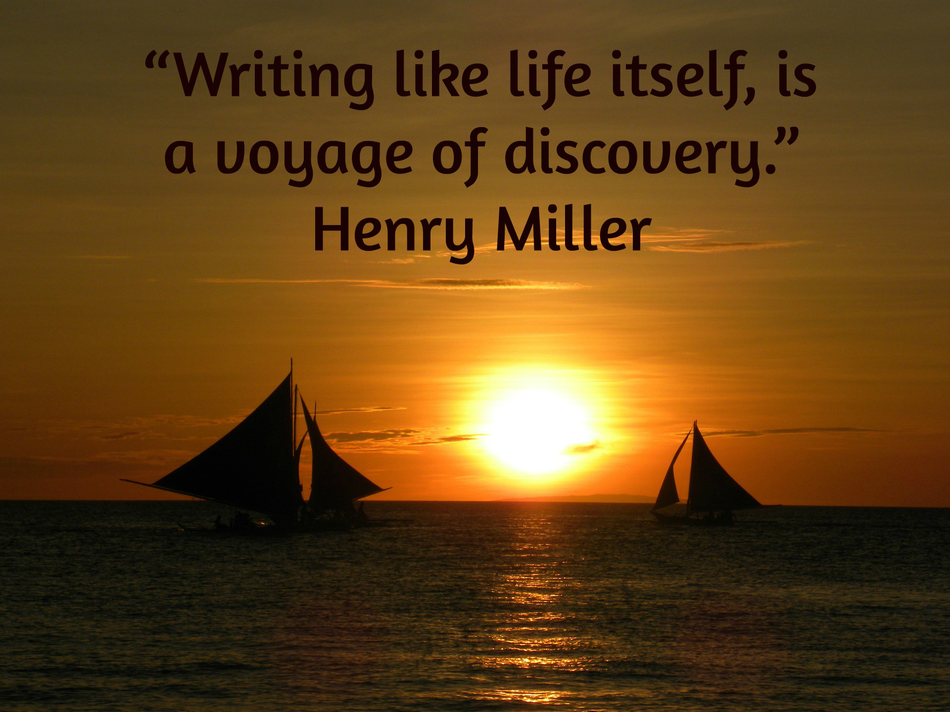 Wednesday Henry Miller Blogging >> Wednesday Writing Inspiration For 11 30 16 From Henry Miller The